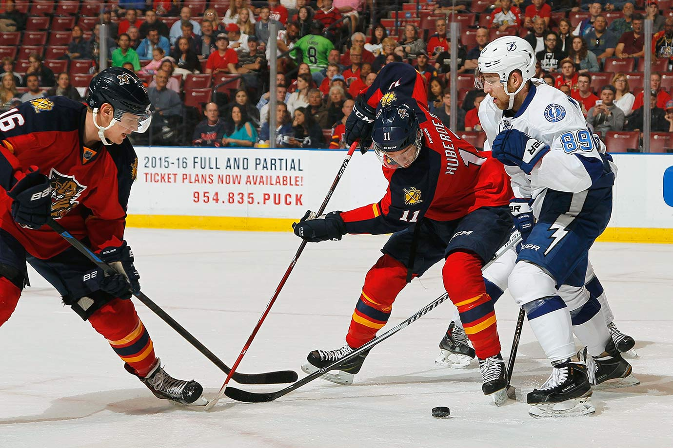 The Panthers are counting on their maturing young core to bridge the seven-point gap that separated them from the playoffs last season. It might work—both Sasha Barkov and Jonathan Huberdeau are poised for big years—but kids like these come with no guarantees. If they do make the cut, their D will make for a short stay. Asking Willie Mitchell to play top-four minutes is courting disaster.