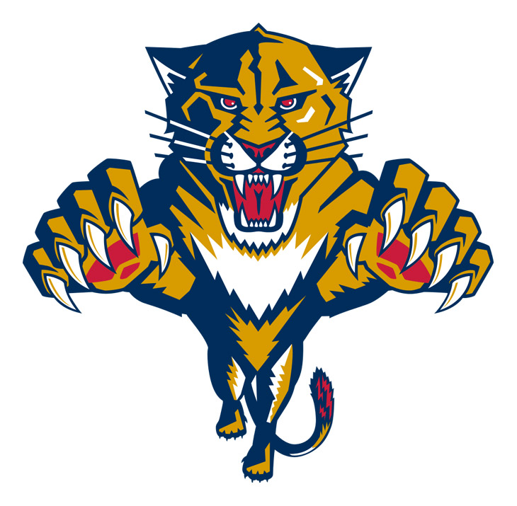 When your nickname is common—Panthers is the sixth-most common in college sports—you'd better have an uncommon logo in order to stand out from the crowd. This one delivers, with the panther appearing to spring off the jersey as it attacks. A reminder that if you're going to use a wild animal as your logo, the least you can do is make it look ferocious (we're looking at you, Bruins pooh bear).