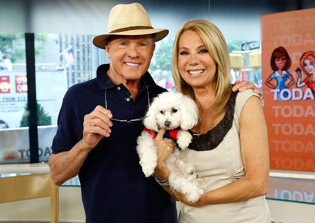 "Frank and Kathie Lee Gifford appear on NBC News' ""Today"" show."