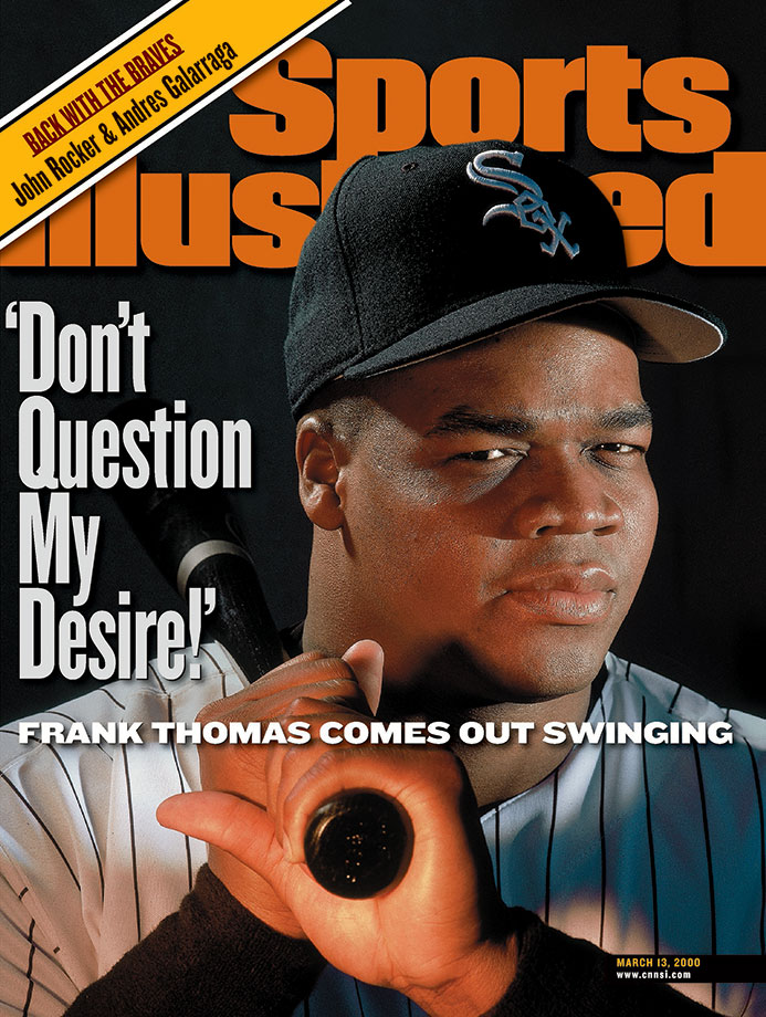 One of baseball's greatest sluggers, The Big Hurt menaced opposing pitchers for 19 seasons. During that time Frank Thomas hit .301, winning a batting title in 1997, with 521 home runs and 1,704 RBI. He hit 30 or more home runs nine times, won two MVP awards and made five All-Star Games. Thomas was inducted into the Hall of Fame in 2014.