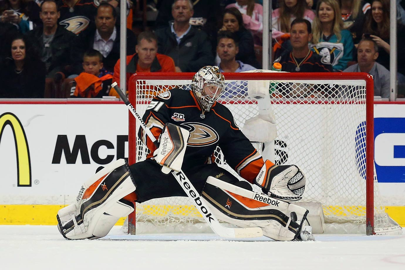 Andersen had gone in the draft once (187th in 2010), but didn't see a place for himself in Carolina's crowded system. He returned to the pool in 2012, and the Ducks grabbed him with the third rounder (No. 87) they got from Vancouver for Max Lapierre and MacGregor Sharp on Feb. 28, 2011. The Danish keeper made an impact, winning 49 of his first 66 games—the highest rate of success for a rookie since Montreal's Bill Durnan in 1943-45.