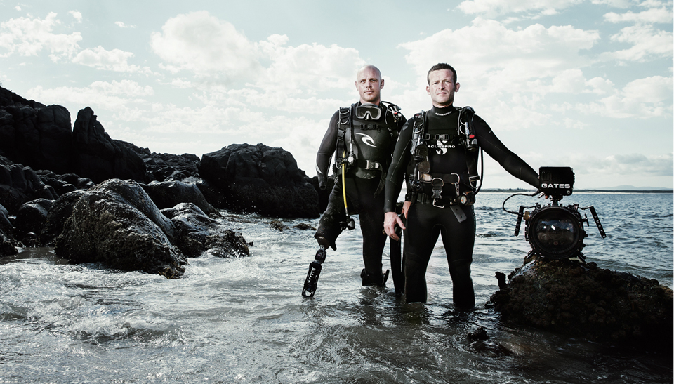 Paul De Gelder and cameraman Andy Casagrande are on a mission to document one of the greatest mysteries of modern shark science.