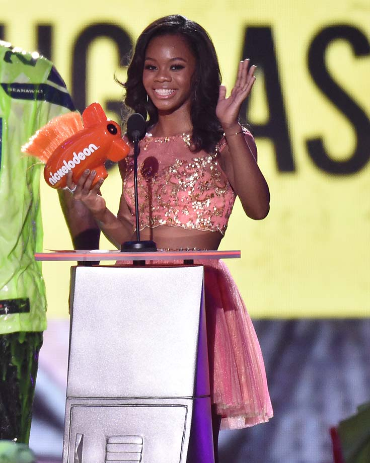 Marshawn Lynch Daughter >> Athletes, Celebs at Kids' Choice Sports Awards | SI.com