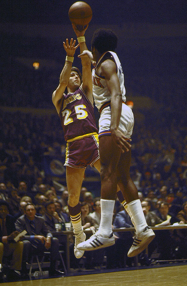 Goodrich starred on the first two national championship teams at UCLA before a Hall of Fame pro career spent mostly with the Lakers, making him a Los Angeles legend.