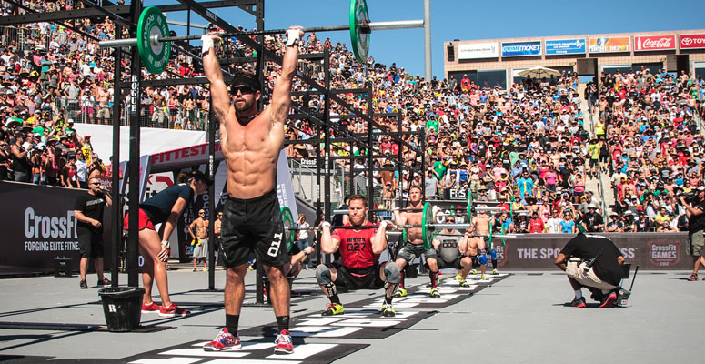 Seven steps to go from your couch the crossfit games