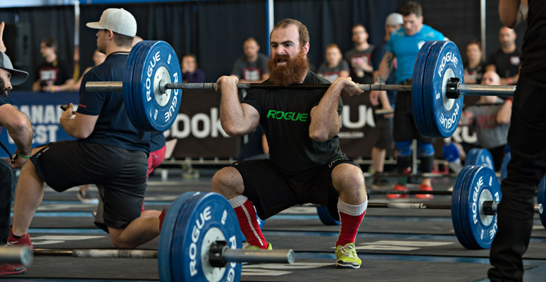Parker started CrossFit in 2005 and is known for his beard. He has been at the top of the leaderboard since 2011 and won this year's Canada West regionals.