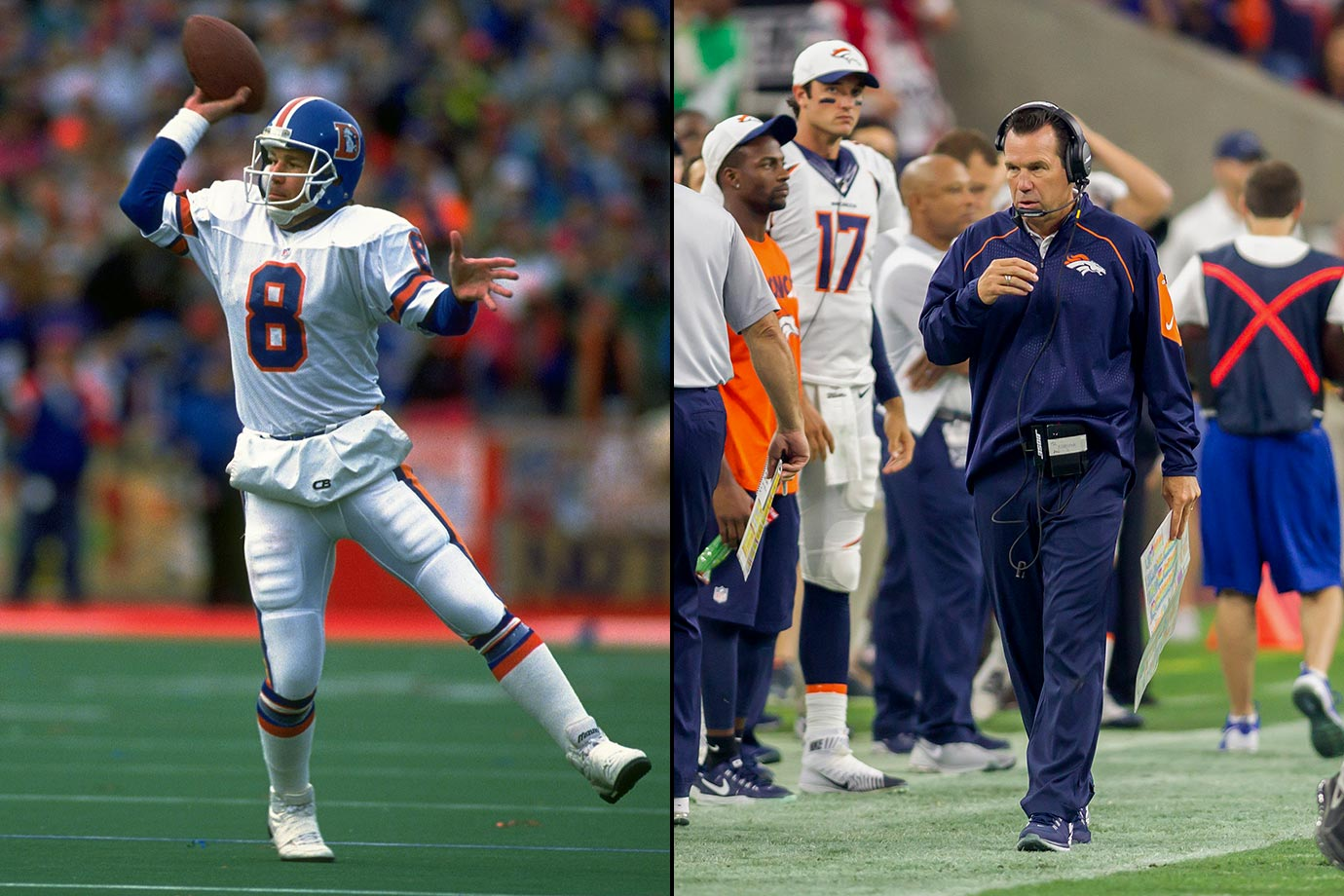 Drafted by the Broncos in the eighth round of the 1983 NFL draft, Gary Kubiak served as John Elway's backup for his entire career. After Kubiak retired, it seemed like his coaching career would follow a similar pattern. He served as the offense coordinator in Denver for 11 years, but in 2006 he was named the second head coach in Houston Texans history. On Dec. 6, 2013, Kubiak was fired after eight years in Houston (61-64), but Denver brought him back home when he signed a four-year deal to become their head coach in 2015. Kubiak's Broncos went on to win Super Bowl 50, 24-10 over the Panthers.
