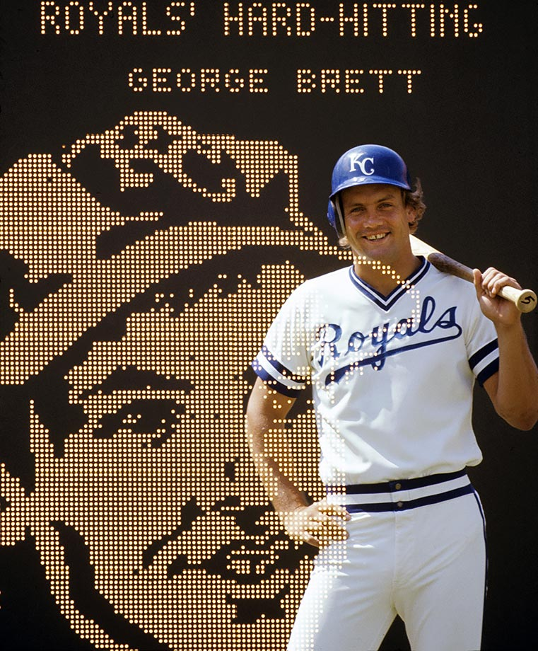 Two of the top five vote-getters of all-time were inducted in 1999, when Brett went into the Hall with Nolan Ryan. A 13-time All-Star, the Royals great batted .305 for his career, collected 3,154 hits and hit 317 home runs.