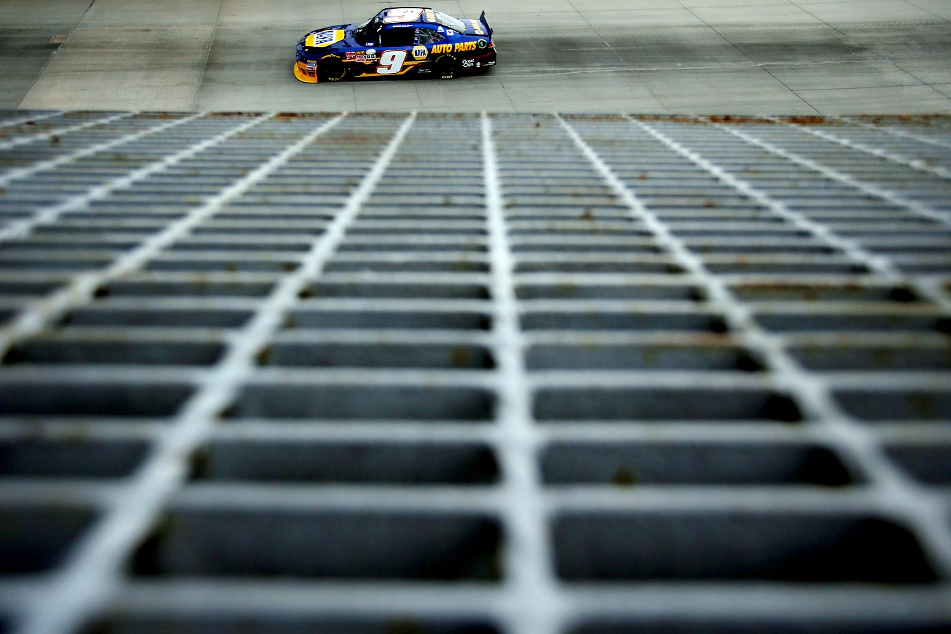 Chase Elliott during practice for the NASCAR XFINITY Series Buckle Up 200.