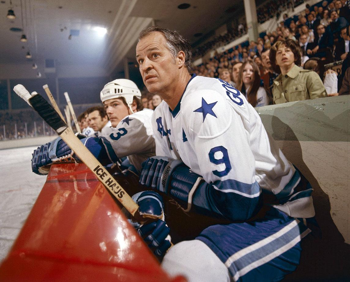 In 1975, being ejected from a game for the first time in his storied career earned Mr. Hockey a one game suspension and $1,000 fine for bumping a referee during a dispute over a penalty call. Howe was skating for the WHA Houston Aeros at the time.