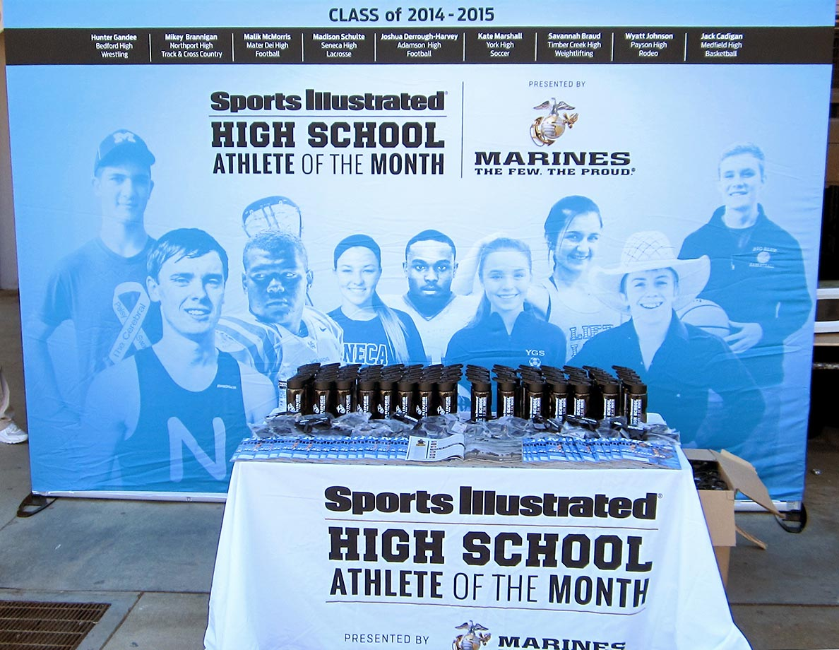 Sports Illustrated traveled to View Park Preparatory Accelerated Charter High in South Los Angeles on Friday, Nov. 13, to recognize senior rugby player Nia Toliver as the SI High School Athlete of the Month for October, presented by the United States Marine Corps.