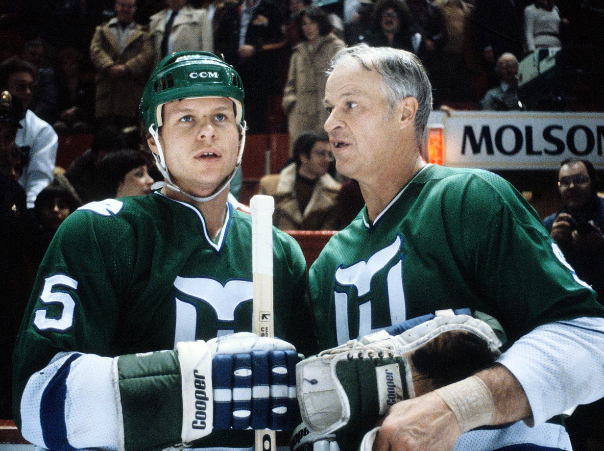 Absorbed from the WHA in 1979; the Whalers featured the 51-year-old Gordie Howe and went on to develop a reputation as lovable losers who advanced as far as the second round of the playoffs only once. After moving to Carolina in 1997 and becoming the Hurricanes, the franchise went on to make two Stanley Cup Final appearances, winning the championship in 2006. However, it languishes at 27th on Forbes' franchise value list (at $187 million). Die-hard Whalers fans remain, and there is occasional talk of the NHL returning to Hartford.                                           All-time regular-season record: 1,104-1,230-263-101; Postseason appearances: 13; Stanley Cups: 1