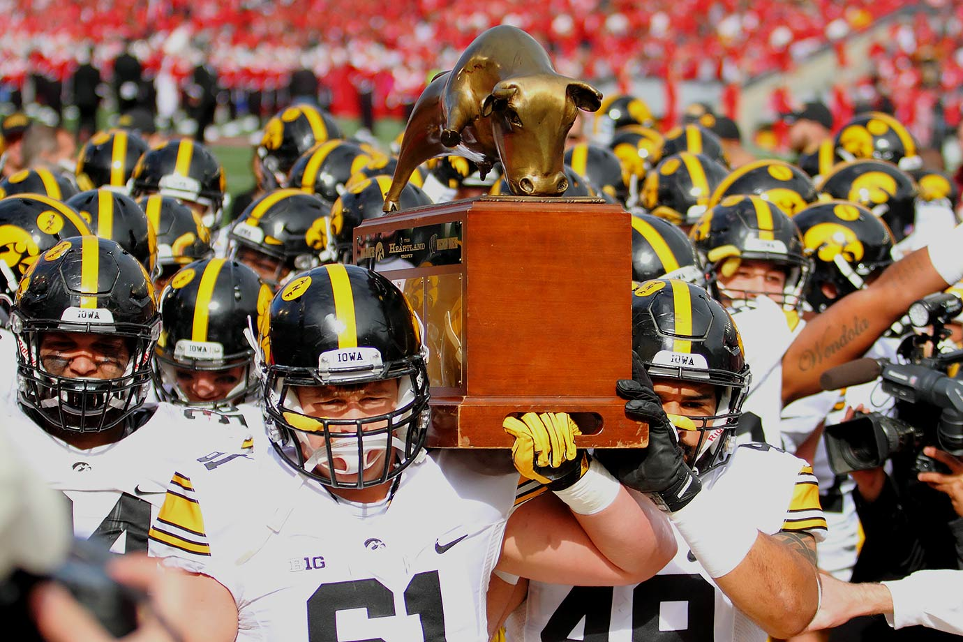 Iowa vs. Wisconsin