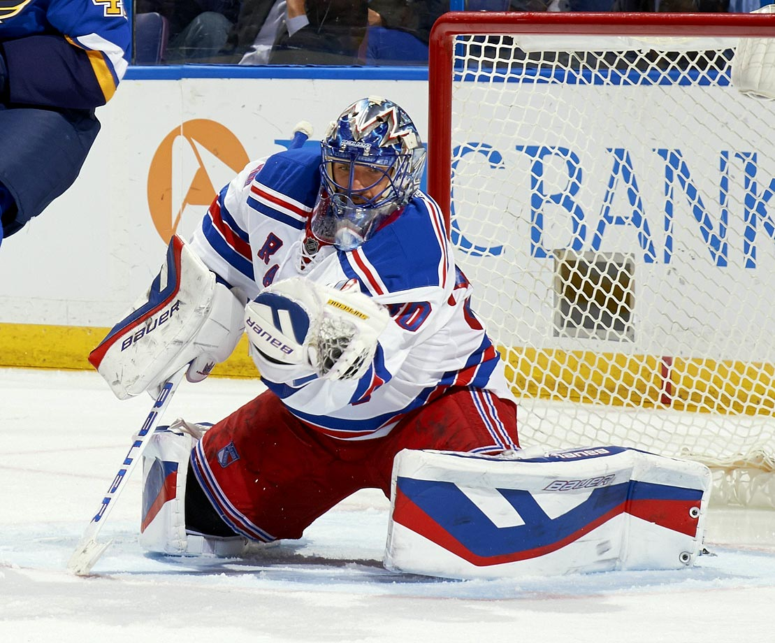 "The Swedish goaltender won the NHL's Vezina Trophy -- given to the league's top netminder -- for the 2011-12 season. Lundqvist finished that season with 39 wins, allowing only 1.97 goals per game and helping lead the Rangers to the best record in the Eastern Conference. ""King Henry"" has been one of the NHL's best goalies during his career, which has taken place exclusively in New York."