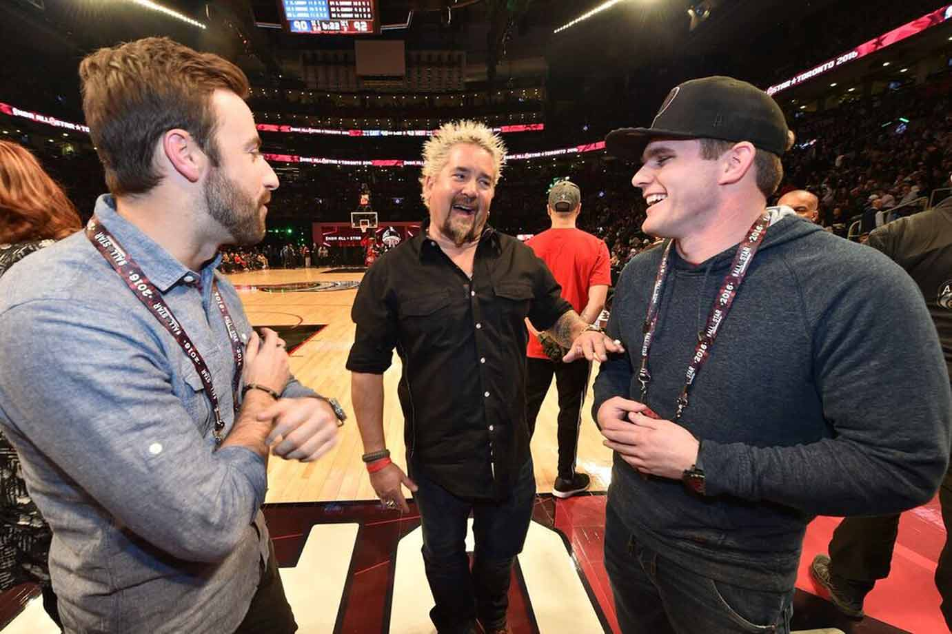 Just three dudes who love racing and basketball!