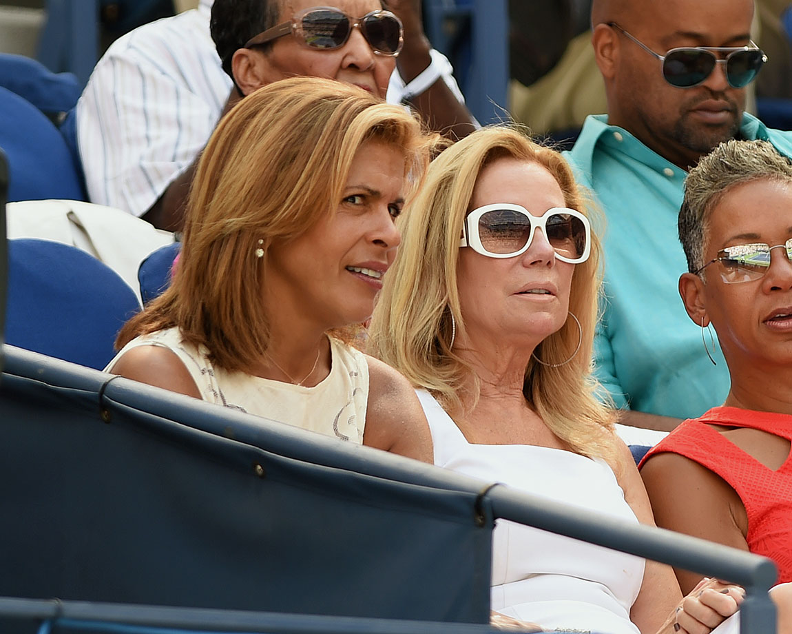 kathie lee and hoda are sending a lucky celebrities at the u s open si com