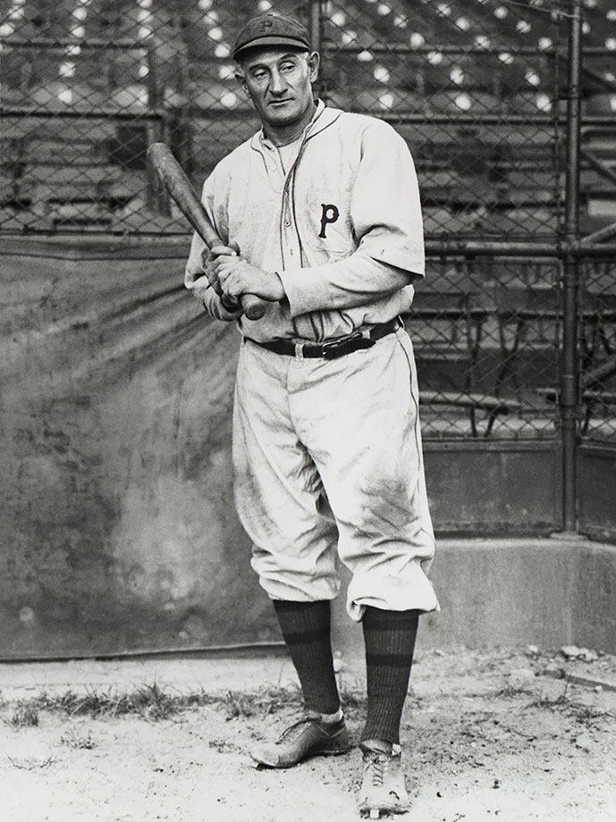"Widely credited as the greatest player of the dead-ball era, Wagner is the third member of the Hall's 1936 class to garner more than 95 percent of the vote. A career .327 hitter, the ""Flying Dutchman"" retired with 3,415 hits and 1,732 RBIs."