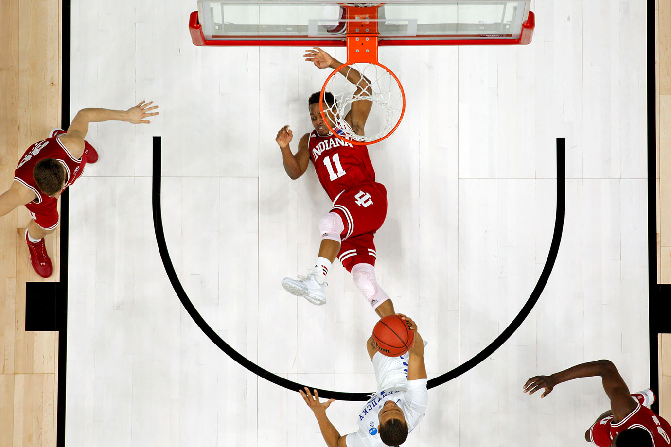 The last trait a team wants to bring into a matchup with North Carolina is average interior defense. That is exactly what the Hoosiers have in the paint, ranking 182nd in the country in opponents' two-point percentage. They won't be able to slow down the duo of Brice Johnson and Justin Jackson.