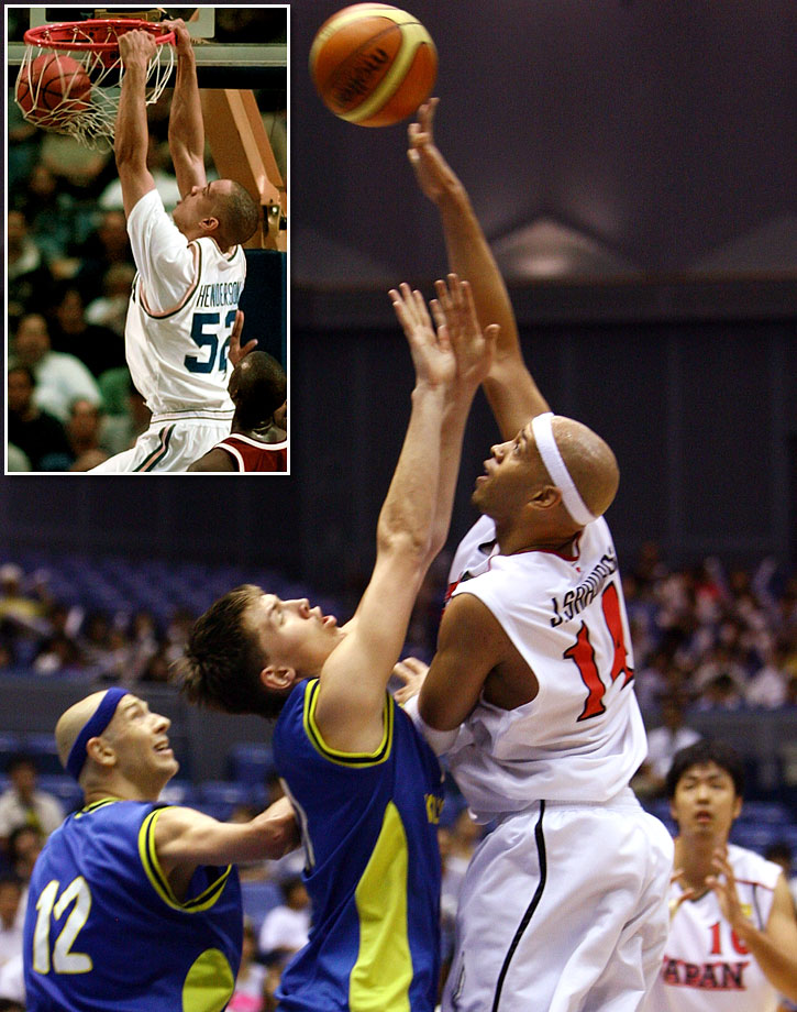 When former Grizzlies forward J.R. Henderson left to play in Japan, he attained a stardom never achieved stateside (21 ppg, 11 rpg in 2007). But one thing kept him from a spot on the national team: his American-ness. So Henderson acquired both a Japanese name and passport to complete the transformation.