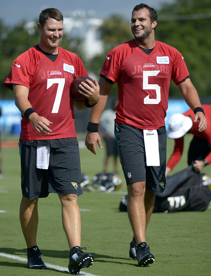 Chad Henne and Blake Bortles