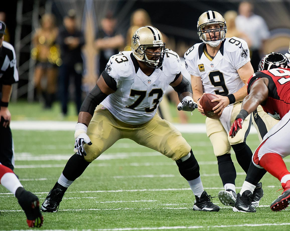 The longtime New Orleans Saint won't be playing in the black and gold for the first time since he came into the league in 2006. He has started all 153 games that he appeared in since he came into the league, was a six-time Pro Bowler and a four-time All-Pro. He won a Super Bowl with the Saints in 2009.