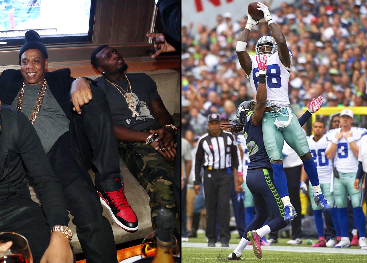 "Cowboys wide receiver Dez Bryant joined Roc Nation Sports in Nov. 2014 while in the last season of his rookie contract and being paid $1.78 million in base salary.  When asked about his decision to change agents, Bryant reportedly said ""It ain't about a contract.  It's about me branding myself and being an icon for these kids."""