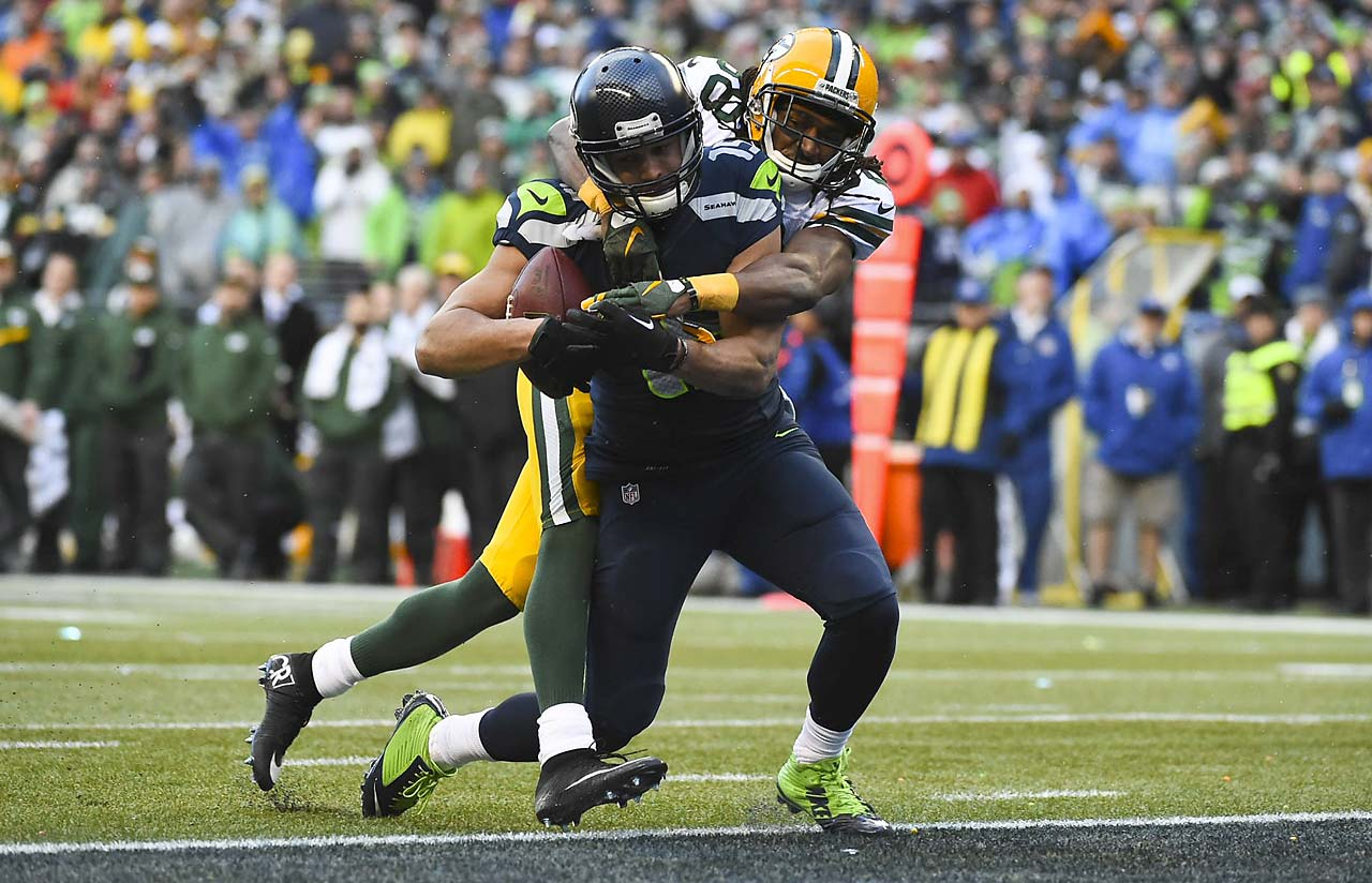 Kearse 35-yard scoring reception sends the Seahawks back to the Super Bowl for a second consecutive season.