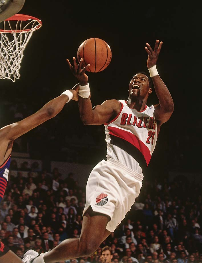 Jerome Kersey played 11 seasons for the Portland Trail Blazers.
