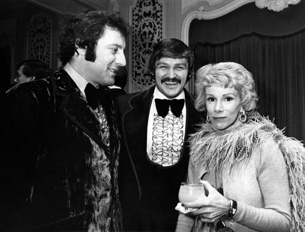 Tony Esposito, Bernie Parent and Joan Rivers :: Getty Images