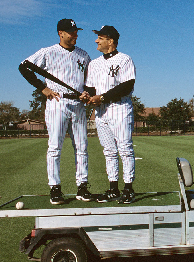 with Derek Jeter