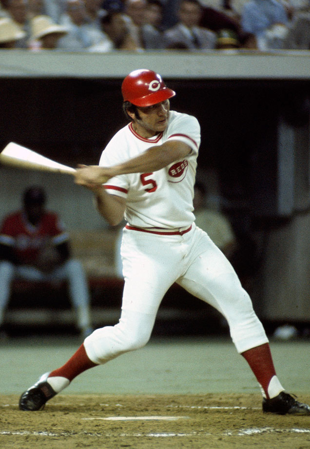 An All-Star every year from 1968 to '80 and something of an honorary selection in his final season in '83, Bench started behind the plate for the NL every year from '69 to '77 and in '80 as well, his final season as a full-time catcher. Bench only appeared in the field in '68, but in '69 he went 2-for-3 with a home run and a walk; after an 0-fer in '70, he hit safely in his next six All-Star Games, adding home runs in '71 and '73. Two-time MVP Gary Carter is a close second here, having hit .300/.364/.750 in 22 career All-Star plate appearances and tying Bench with three home runs, the most by a catcher in All-Star action.