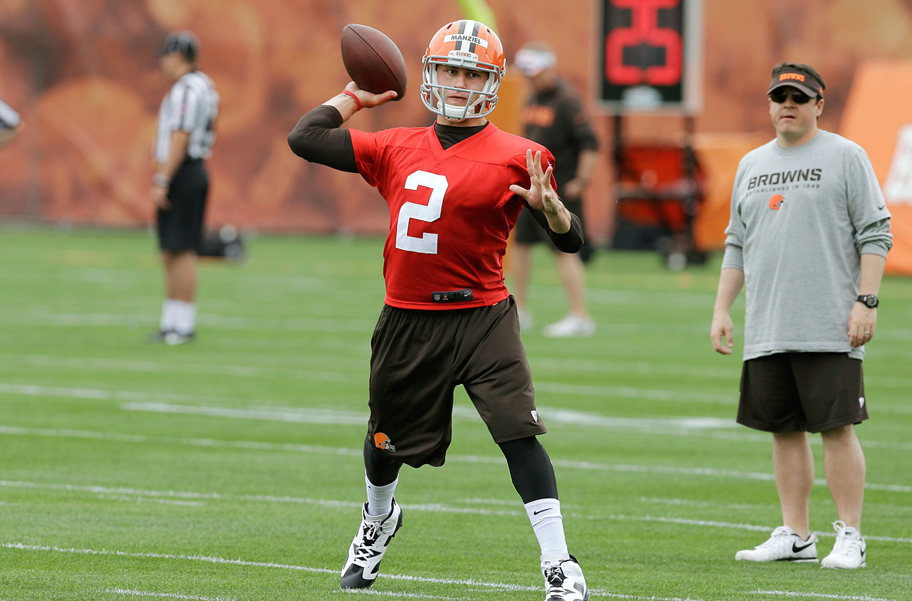 One of the most intriguing stories of training camp is whether this megastar of a rookie can prove to the Browns' coaching staff that he deserves to be handed the starting job straight away over veteran quarterback Brian Hoyer.