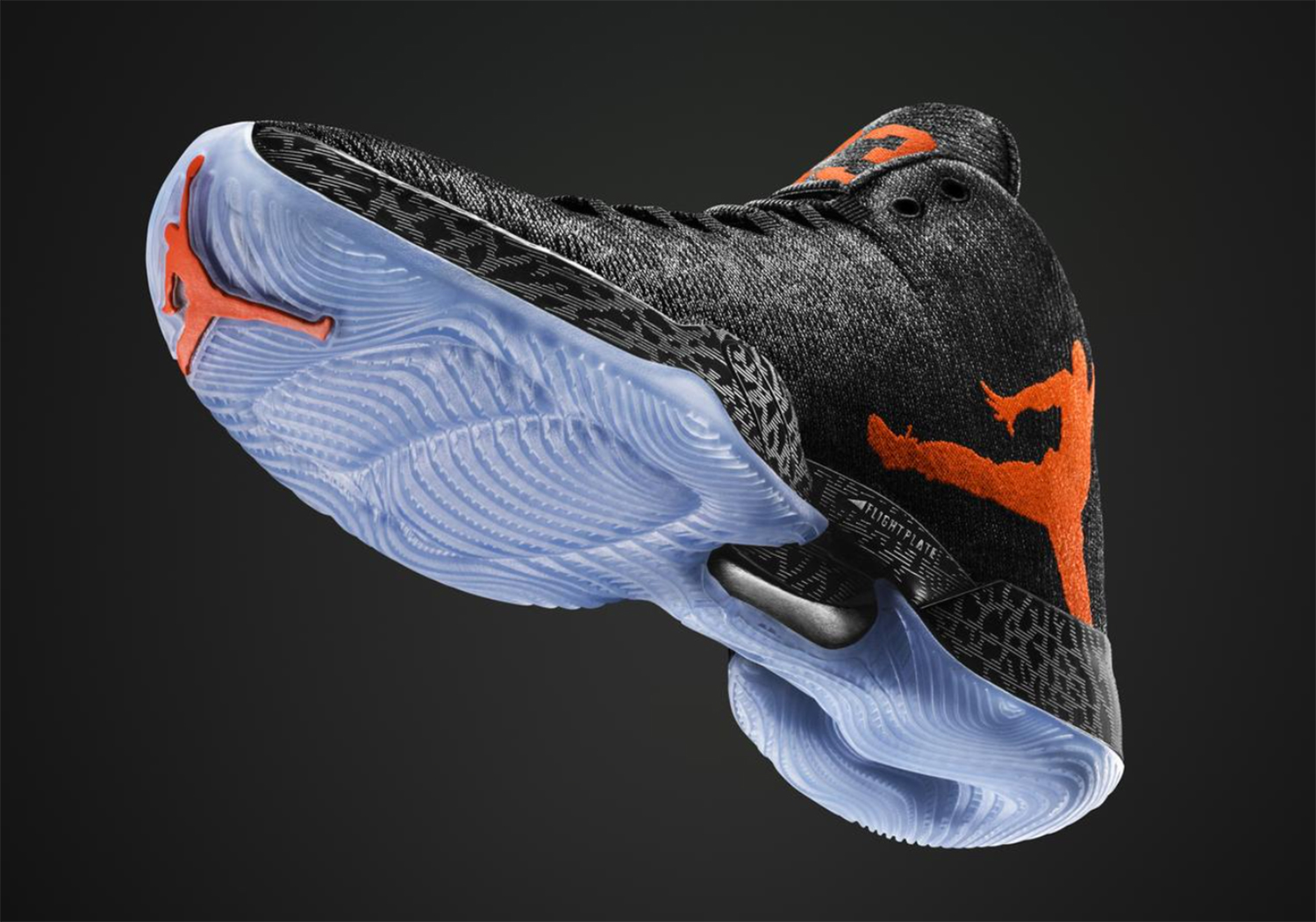 Maybe the carbon plate for lightweight, high-strength support impresses you. Of course, that upper woven in Italy adds a nice lightweight, technical touch too. But if we're being honest, this Russell Westbrook-worn shoe isn't mainly about the technology. No, while nice, the aesthetics get us every time. The top-selling Jordan Brand shoe shines with the Jumpman wrapping the rear of the XX9. Just as it should be.