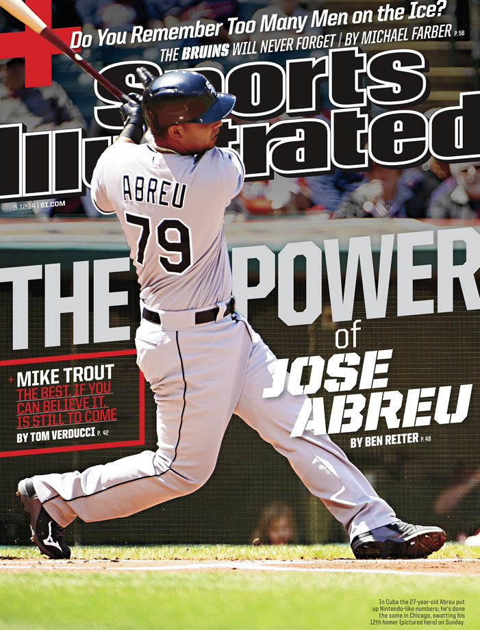 Abreu said he decided to leave his birthplace during the World Baseball Classic in 2013, and he made it out of the country with his brother-in-law on Abreu's first attempt to defect.  Believing he would drown while defecting, Abreu eventually reached Haiti before making his way to the Dominican Republic.  The White Sox and Abreu agreed on a six-year, $68 million contract during the offseason last year. At the time, the deal was a record for an international player.  Abreu hit .317, with a .383 on-base percentage and a .581 slugging percentage in 2014 and was named AL Rookie of the Year. In 145 games, the All-Star first baseman had 107 RBIs and 36 home runs.