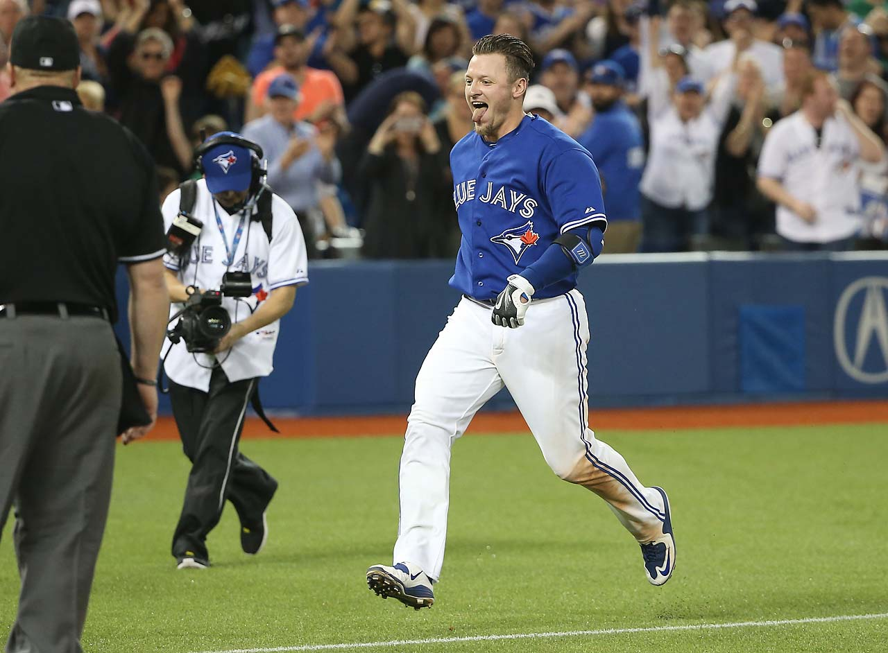 Josh Donaldson's 10th inning heroics broke a 5-5 tie and gave the Blue Jays a walk-off win over the Atlanta Braves on April 18.