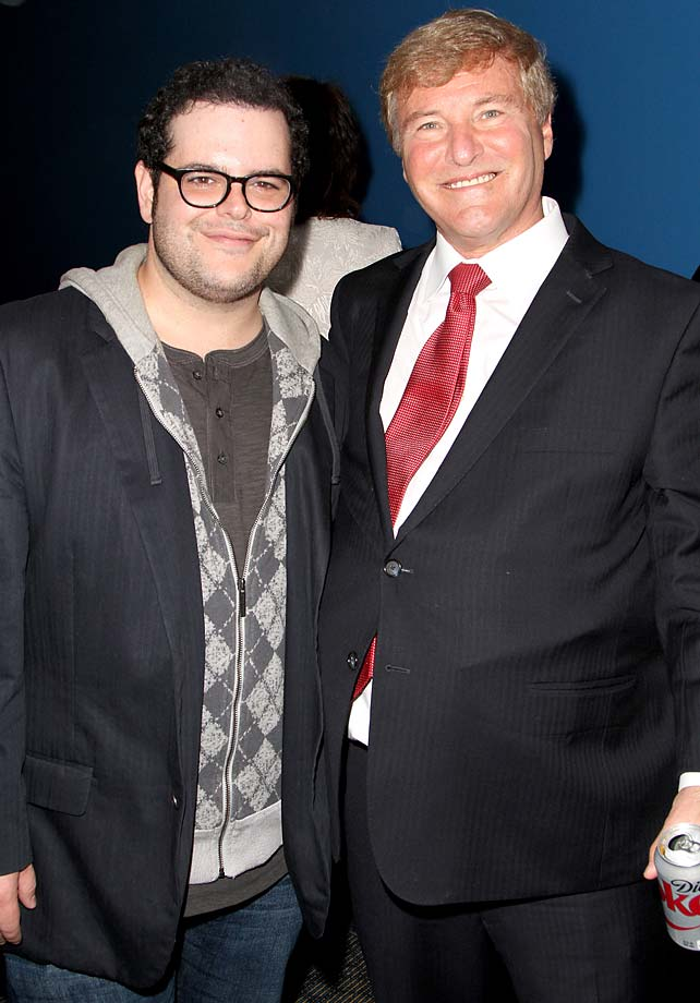 Josh Gad and Leigh Steinberg