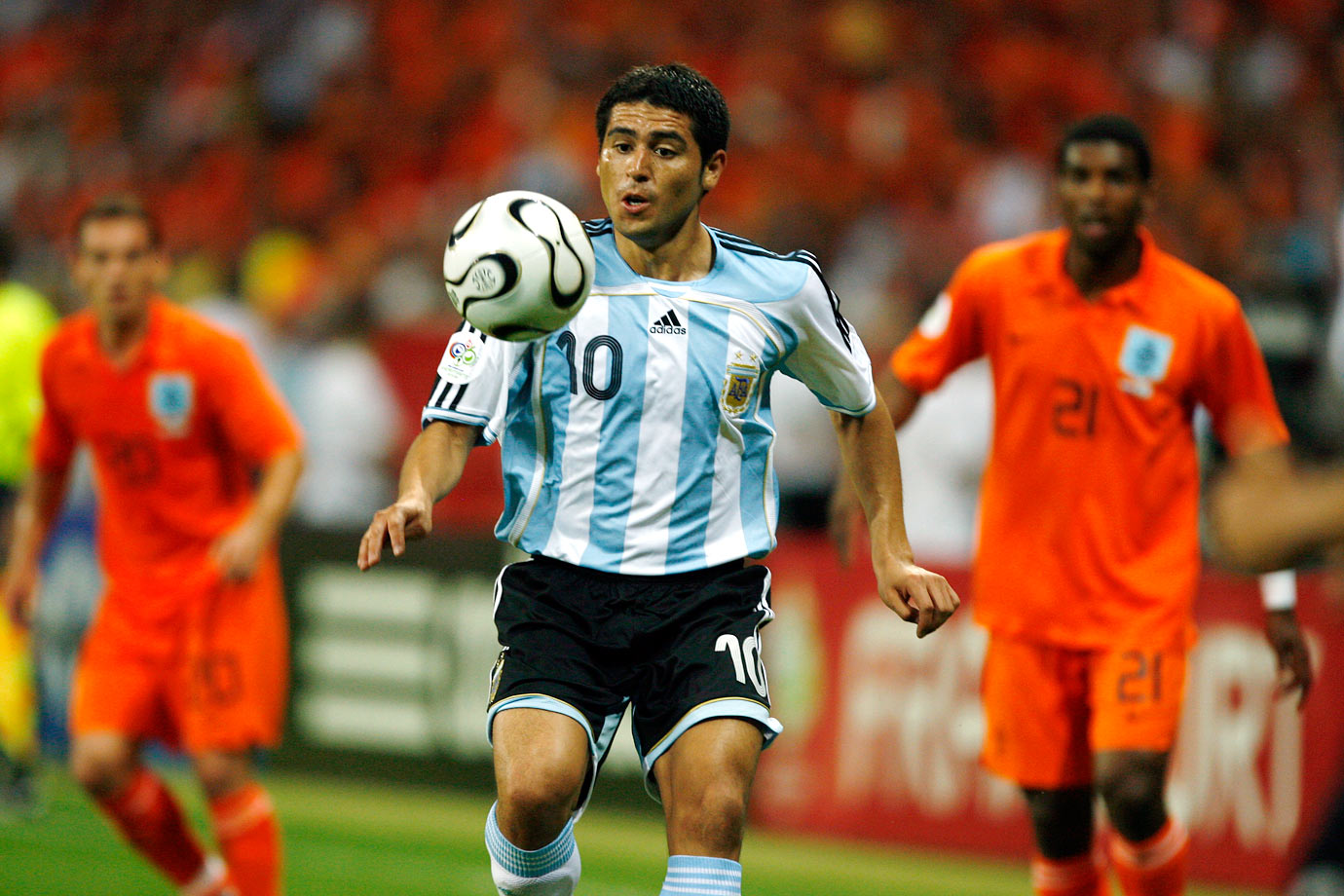 Argentine soccer star Juan Roman Riquelme retired Jan. 26, ending a nearly two-decade-long professional career that included stints with Boca, Barcelona, Villarreal and Argentinos and 51 appearances for the Argentine national team. Riquelme, who wore the iconic No. 10 for Argentina, was known around the world for his playmaking skills and delivered three assists at the 2006 World Cup, where Argentina reached the quarterfinals.