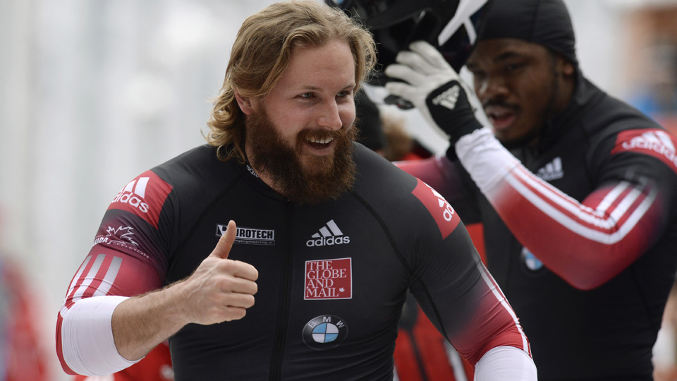 The website of Canadian bobsledder Justin Kripps was blocked in Russia, presumably by Russian authorities.