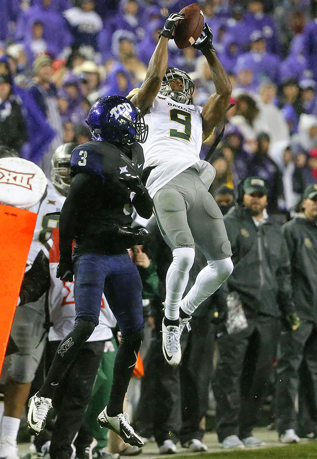 Cannon will step in as Baylor's No. 1 receiver following the departure of Corey Coleman. After topping 1,000 yards receiving as a freshman, Cannon's yardage and touchdowns were slightly down during his sophomore campaign, but that could be attributed to Seth Russell, Baylor's starting quarterback, getting hurt with six games left in the season. With Russell back and Cannon now as the clear go-to target, Cannon is poised for a big year.