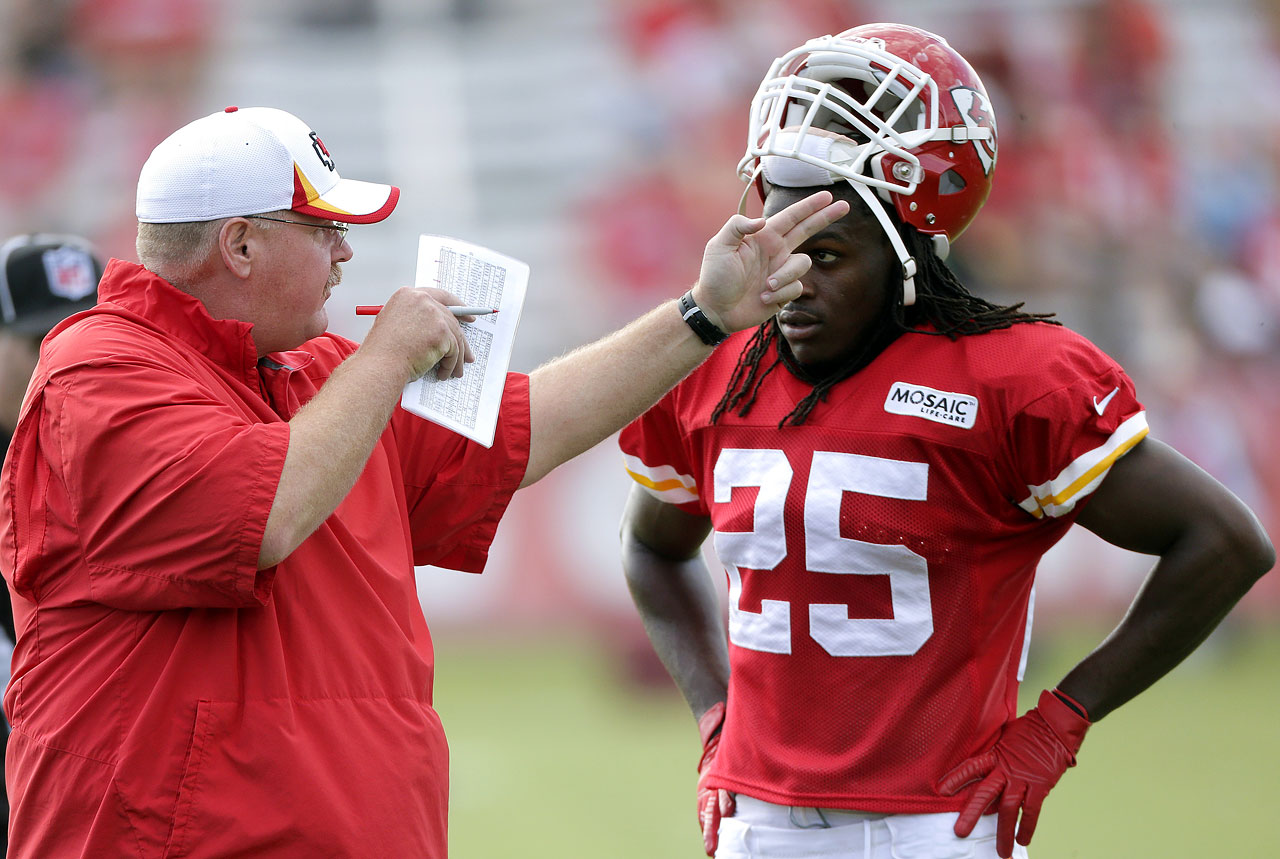 Andy Reid and Jamaal Charles
