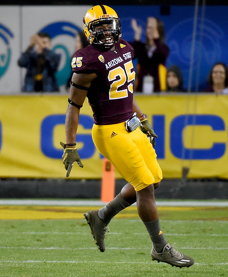 Orr led the Sun Devils at free safety as a freshman, finishing the 2015 season with a Pac-12-best six interceptions, one of which he returned for a touchdown. He added 38 tackles and earned him a first-team Freshman All-America selection by USA Today.