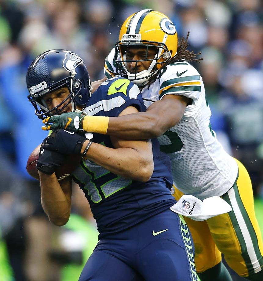 On each of the other four times Kearse had been targeted in the game, the Seahawks lost the ball via an interception.