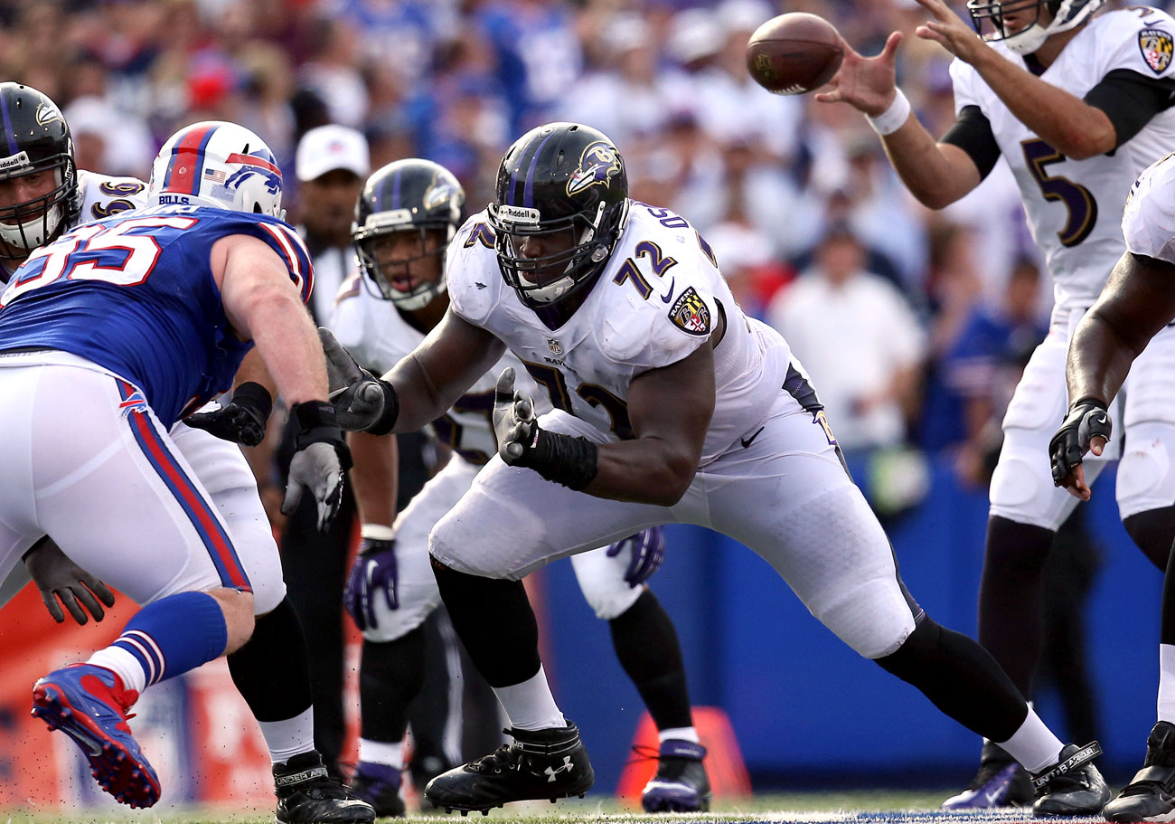 Potential free agent Kelechi Osemele should be high on the list for a team looking for offensive-line help.