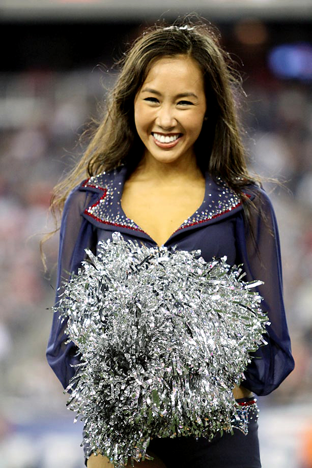 New England Patriots cheerleader Kelly has degrees from Middlebury College, Harvard University and Boston College.
