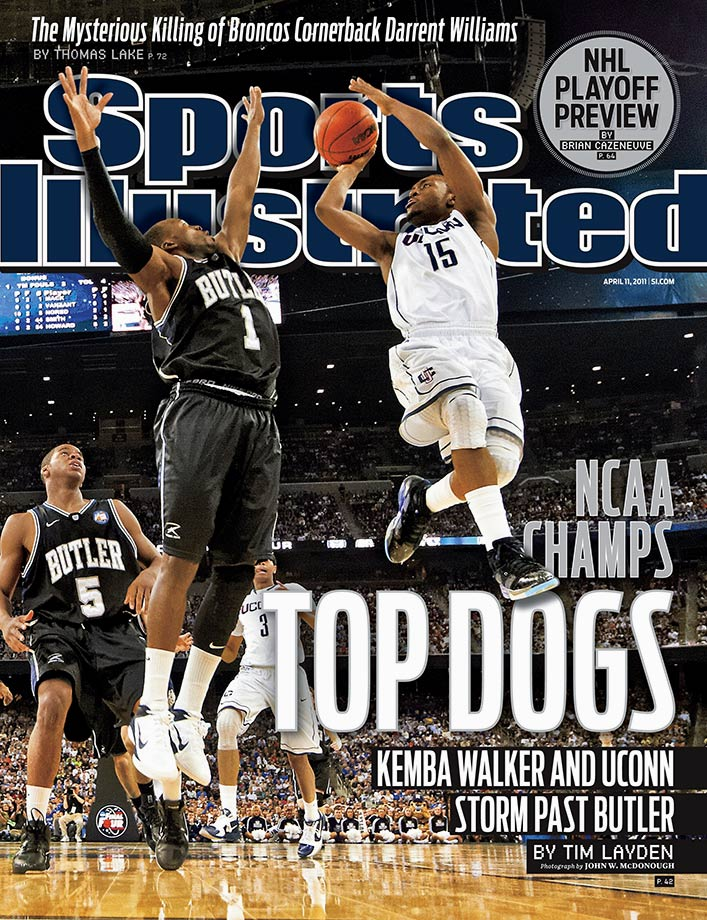 Walker's heroics propelled Connecticut to arguably the most impressive postseason run in college basketball history. First he led the No. 9 Huskies to five wins in five days to capture the Big East tournament championship. Walker scored 130 points in that tournament, including the game winner at the buzzer to beat Pittsburgh in the quarterfinals. Then, scored 141 points in six NCAAA tournament games as Connecticut won the national championship. That season, Walker averaged 23.5 points, 5.4 rebounds and 4.5 assists, he was named first team All-America and won the Bob Cousy Award as the nation's top point guard.