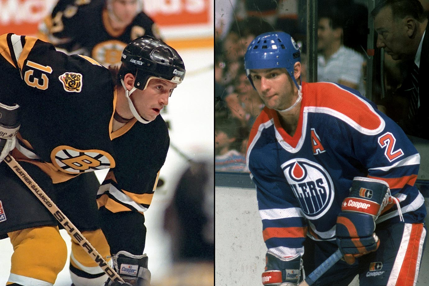 "Aptly nicknamed ""The Rat,"" the Bruins agitator was fined for sinking his teeth into Oilers defenseman Lee Fogolin during an October 1984 game."