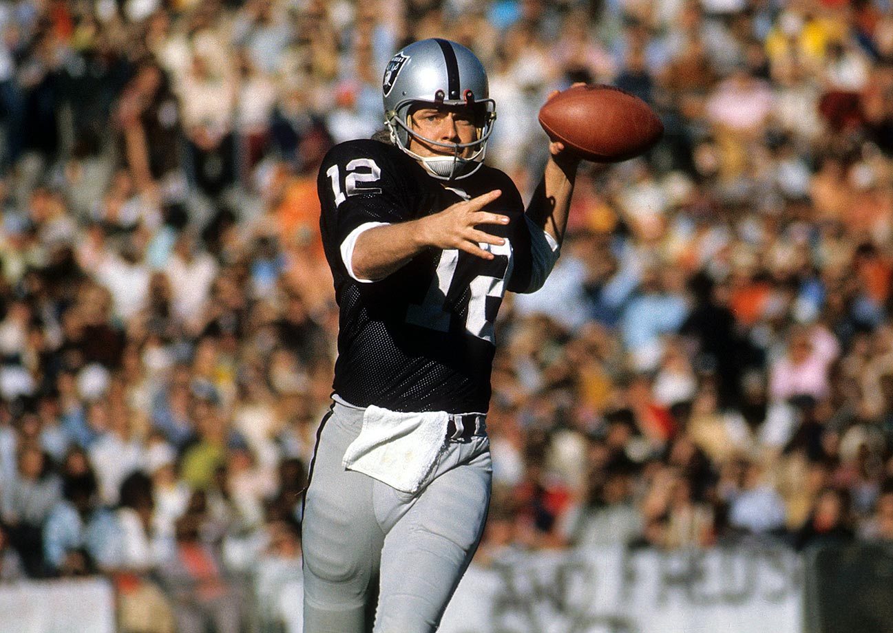 "Stabler was a four-time Pro Bowl selection and was also named the 1974 NFL MVP after leading the league with 26 touchdowns and throwing for 2,469 yards. Stabler played 15 seasons in the NFL, including 10 with the Oakland Raiders, who won Super Bowl XI behind ""Snake."""