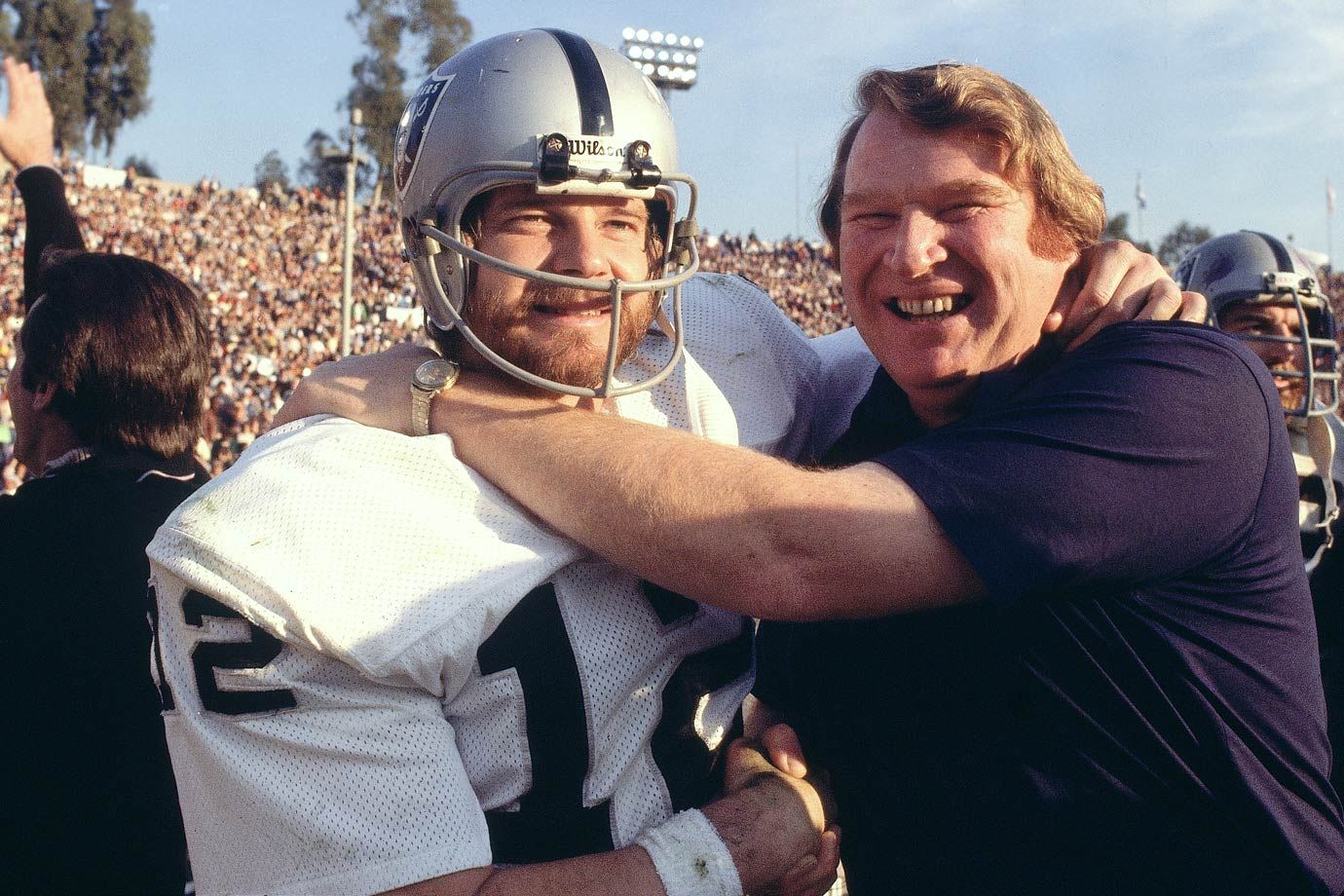 SI's best pictures of former NFL quarterback Kenny Stabler, who died July 8, 2015. He and coach John Madden, celebrating here shortly after defeating Minnesota in Super Bowl XI, are among the greatest figures in Oakland Raiders history.
