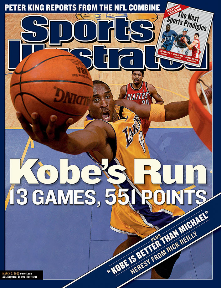 Mamba will retire as the NBA's third all time leading scorer, and he'll wonder why he's not in the top 10 of all time greats. He certainly has a case, but tell me who to take out and I'll listen.