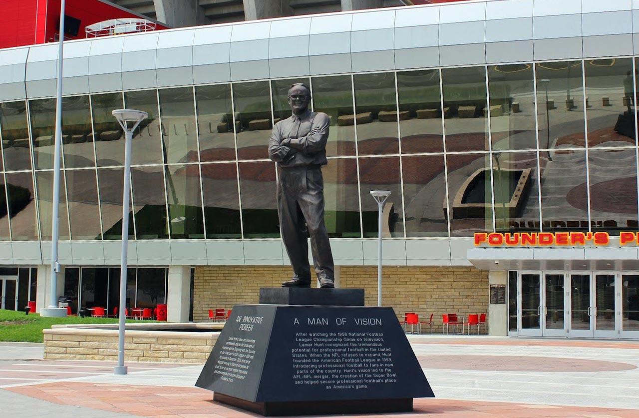 Arrowhead Stadium in Kansas City